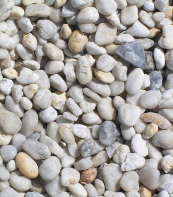 White Pebble 20mm