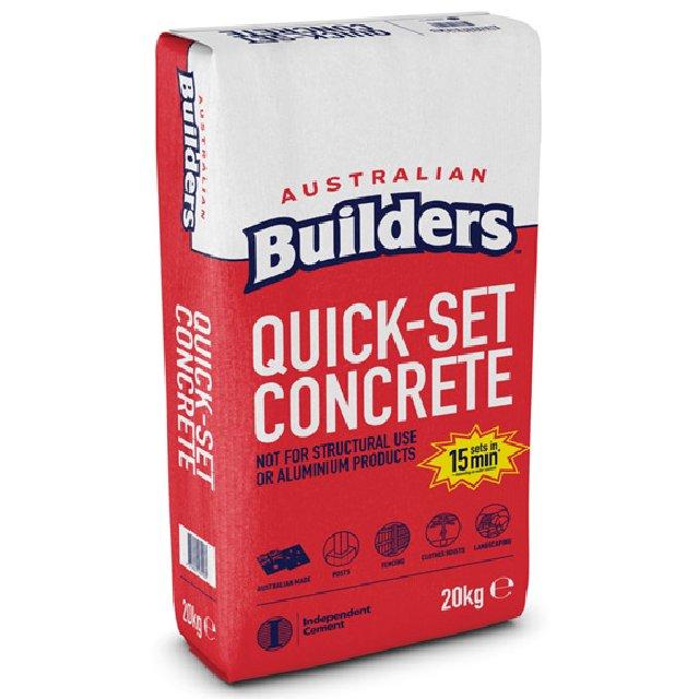 Quick Set Concrete