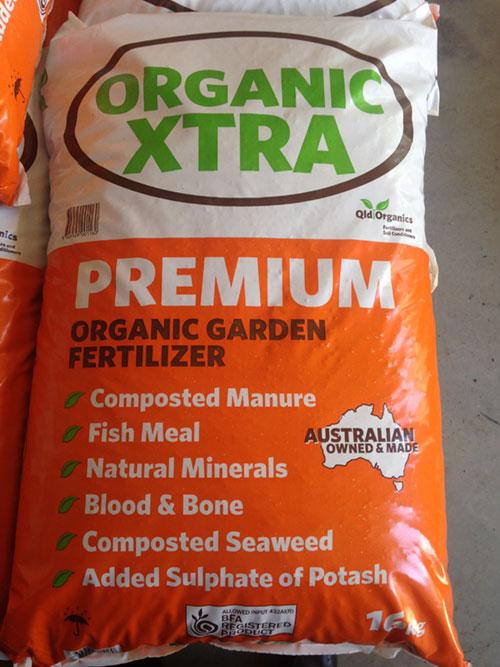 Organic Xtra 25Kg